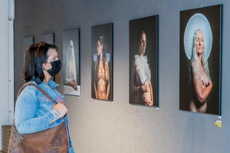 Bekende beelden van Filip Naudts, nu in de pop-up in Knokke