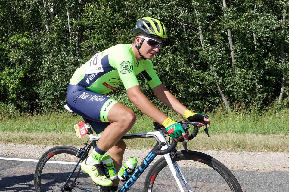 Onder meer de fiets van deze Venantas Lasinis werd gestolen