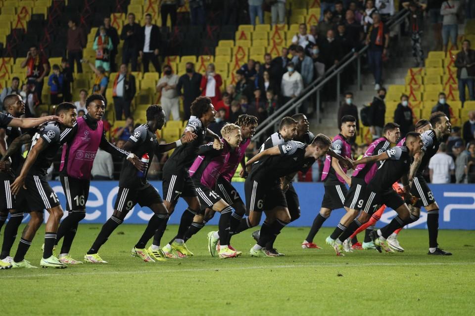 Sherif Tiraspol won zijn eerste eindrondewedstrijd ooit in de Champions League: 2-0 tegen Shaktar.