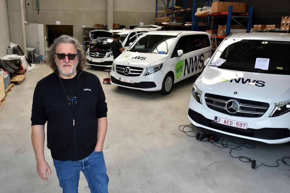 """Bart Willems, CEO van Amptec: """"We hebben alles te danken aan de passie van onze medewerkers."""""""