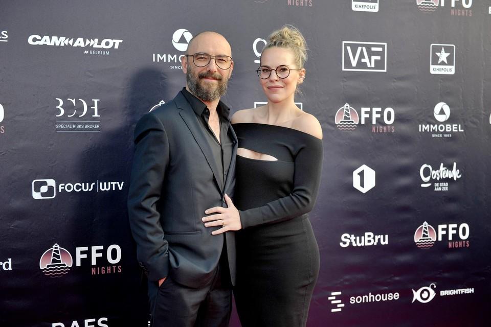 Filmregisseur Michaël R. Roskam en Eline De Munck