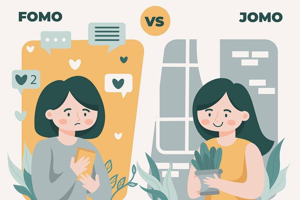 Fear of missing out (fomo) versus joy of missing out (jomo)