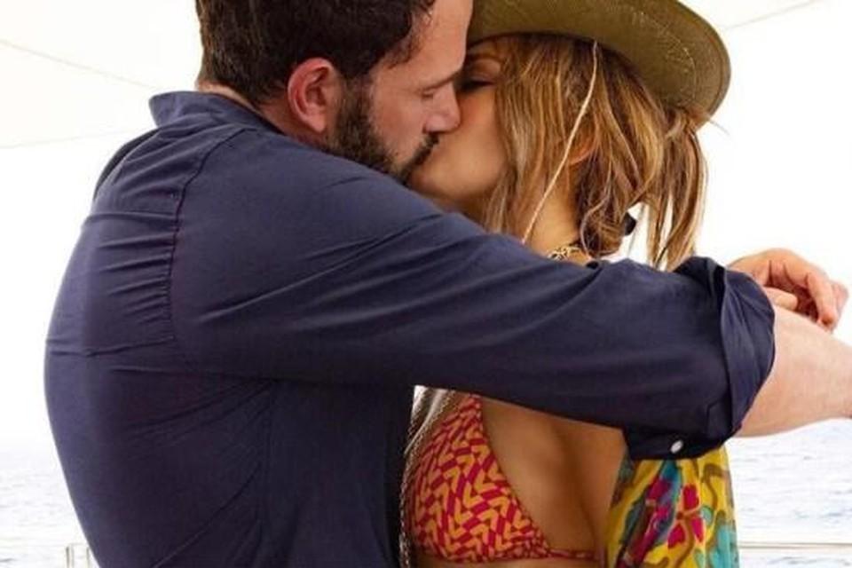 Met deze foto bevestigden Jennifer Lopez en Ben Affleck hun hernieuwde liefde.