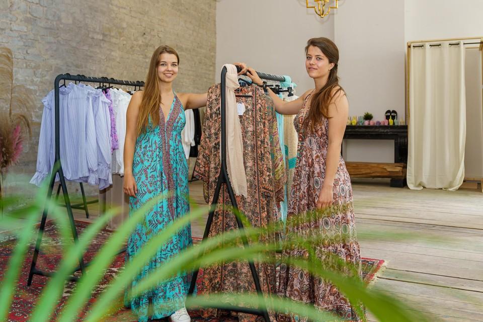 Charlotte (links) en Michelle (rechts) openden begin juni hun pop-up Espérance