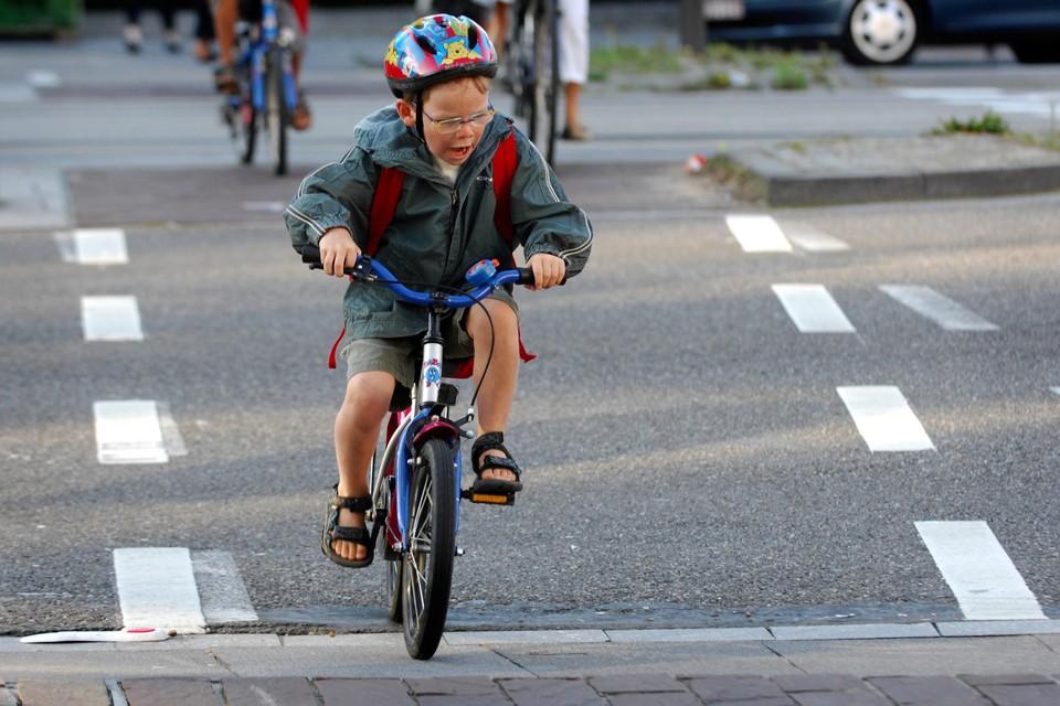 Met de fiets naar school: oppassen voor donderdag- en vrijdagavond.