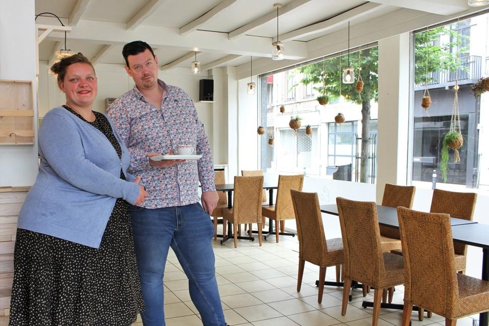 Silke Heylen en Johan Verschoren van Bisto Evarist in Lier.