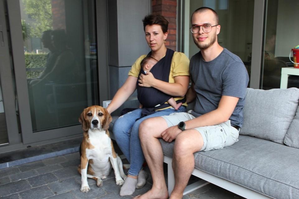 Sarah Aerts en Mats Verhaegen moeten noodgedwongen veel langer blijven huren.
