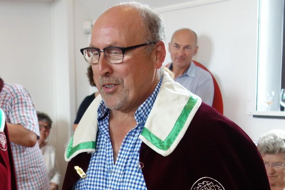 Jos Van Laer van domein Kluisberg is een van de zes Hagelandse wijnbouwers die in de prijzen viel.