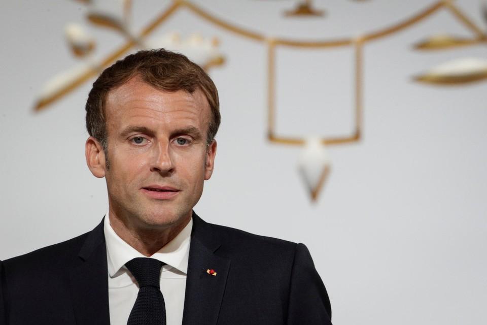 Frans president Emmanuel Macron is verbolgen over het veiligheidspact AUKUS.