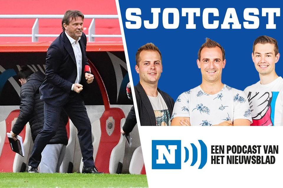Frank Vercauteren was maar wat blij dat hij ten koste van Anderlecht een beter Europees ticket pakte.