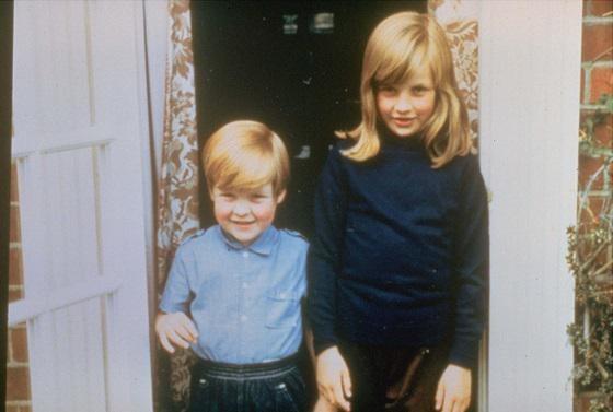 De jonge Charles en Diana.