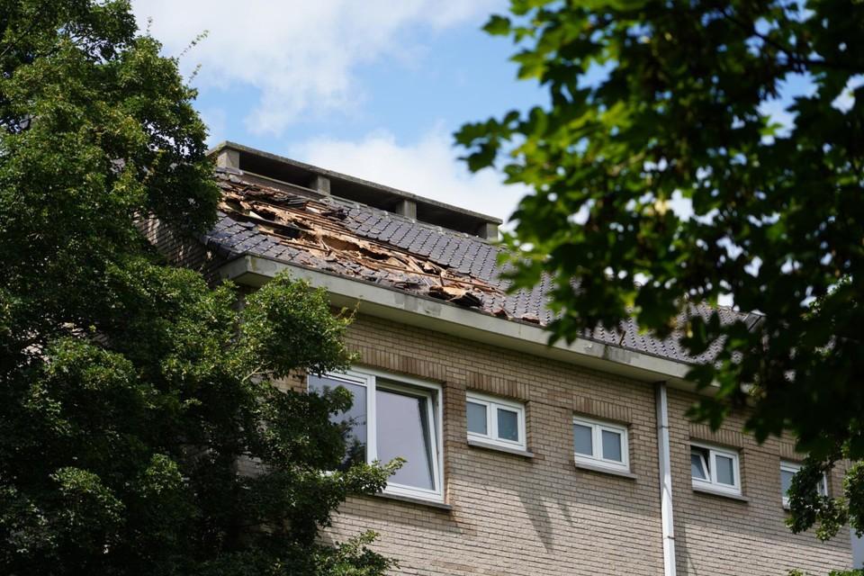 De brand ontstond in een woning in de Morganietstraat.