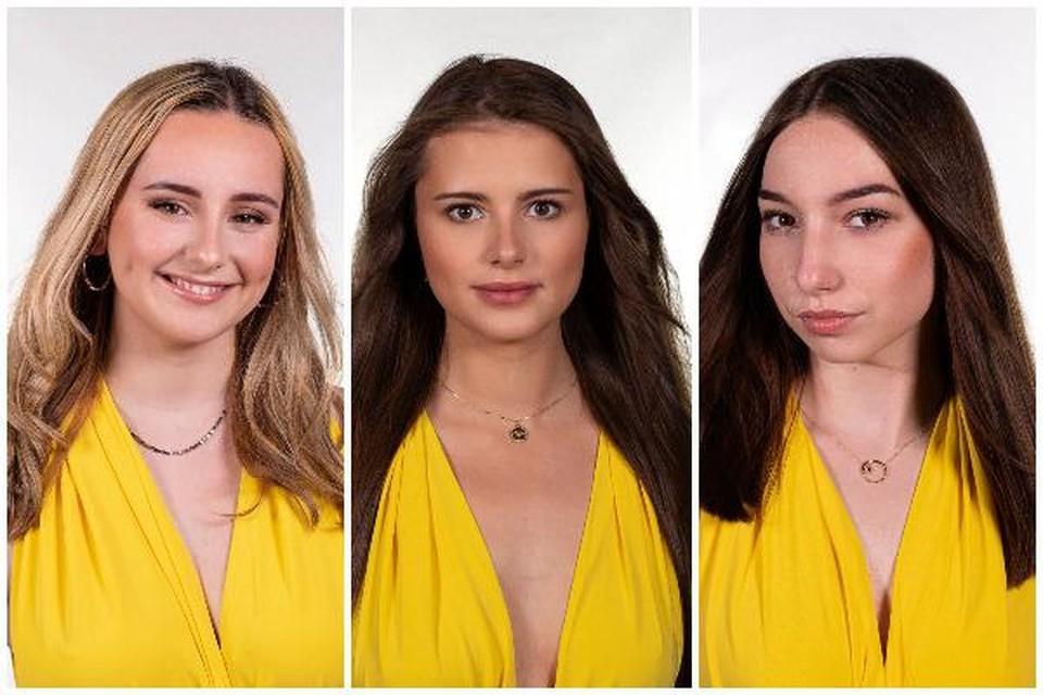 Onder meer Kendra De Paepe, Thaïsa Herman en Océane De Baeredingen dit jaar mee naar het kroontje van Miss België
