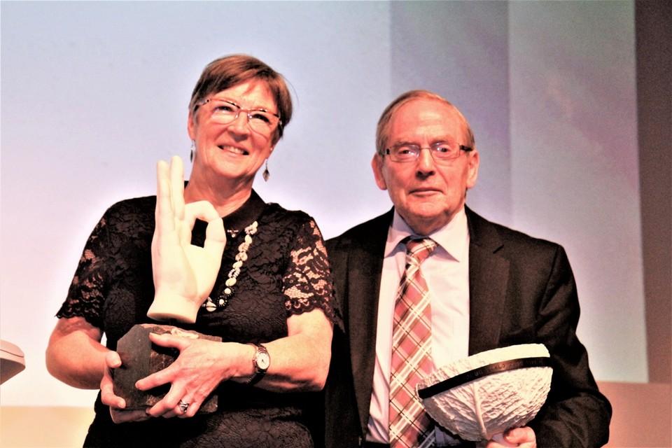 Marijke De Winne en Edward De Geest zijn blij met de mooie erkenning.
