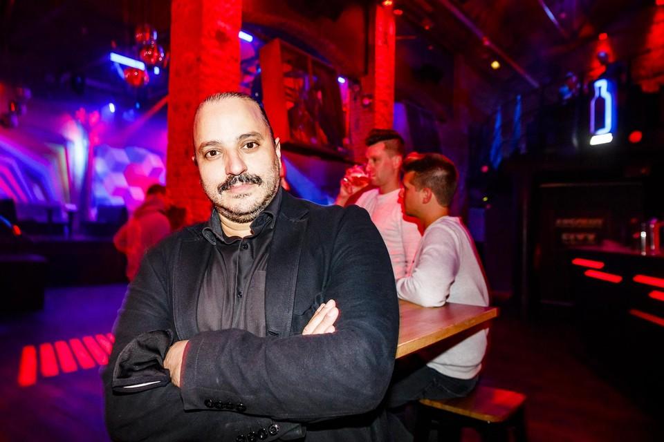 Nourdin Ben Sellam, de uitbater van Red & Blue