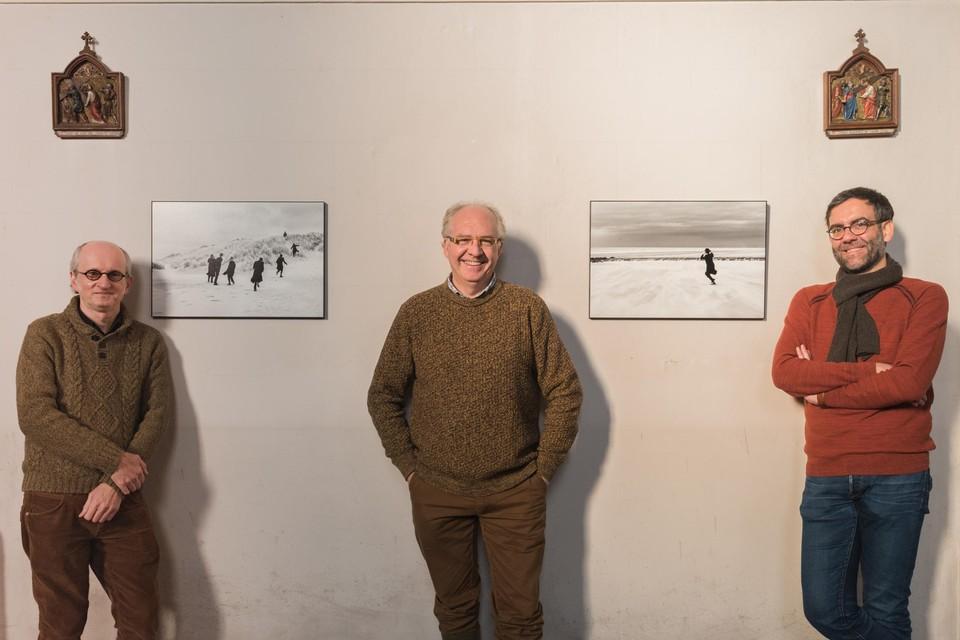 Jan Vanwinckel, Eddy Verloes en Bart Bekker.