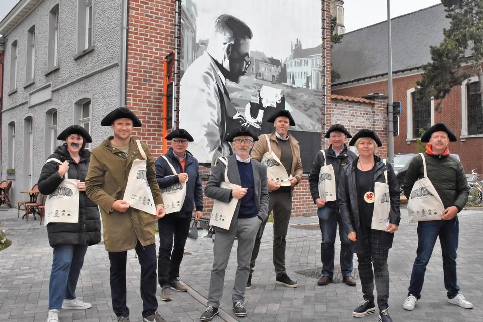 De Confrerie De Griffioen stelde een multimediale wandeling in het Heule van 1880 samen.