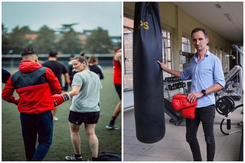"""De politie van Gent start met een opvallend nieuw project: """"Door samen te boksen leren ze de mens achter de agent kennen."""""""