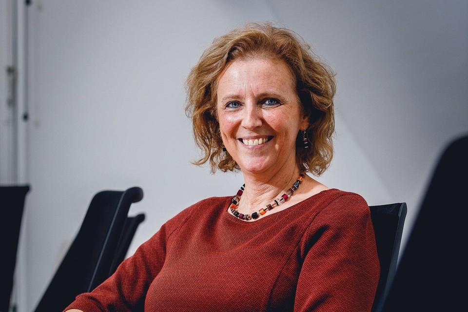 Schepen van Mobiliteit Katleen Vantyghem hoopt dat de Heistenaar veel input zal geven voor het nieuwe mobiliteitsplan.