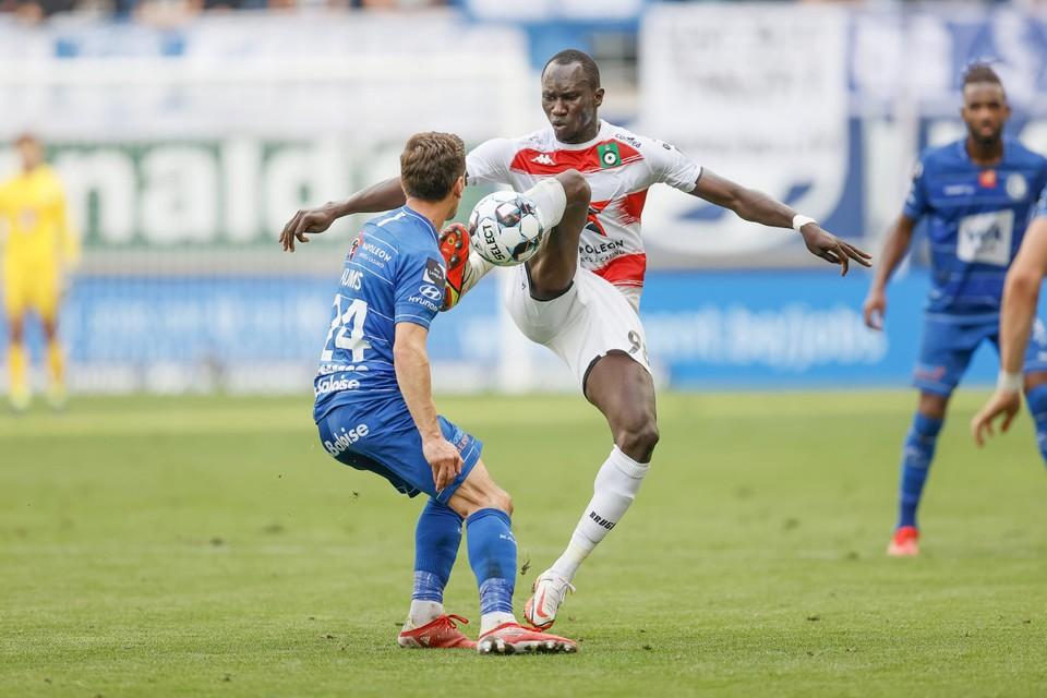 Franck Kanouté verscheen nog eens aan de aftrap.
