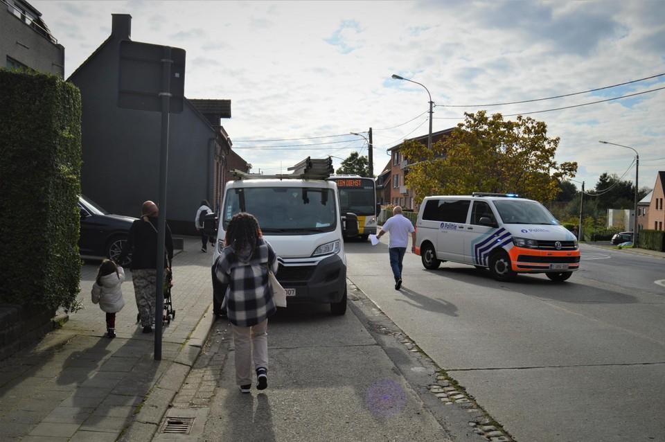 Een andere bus haalde de inzittenden op.