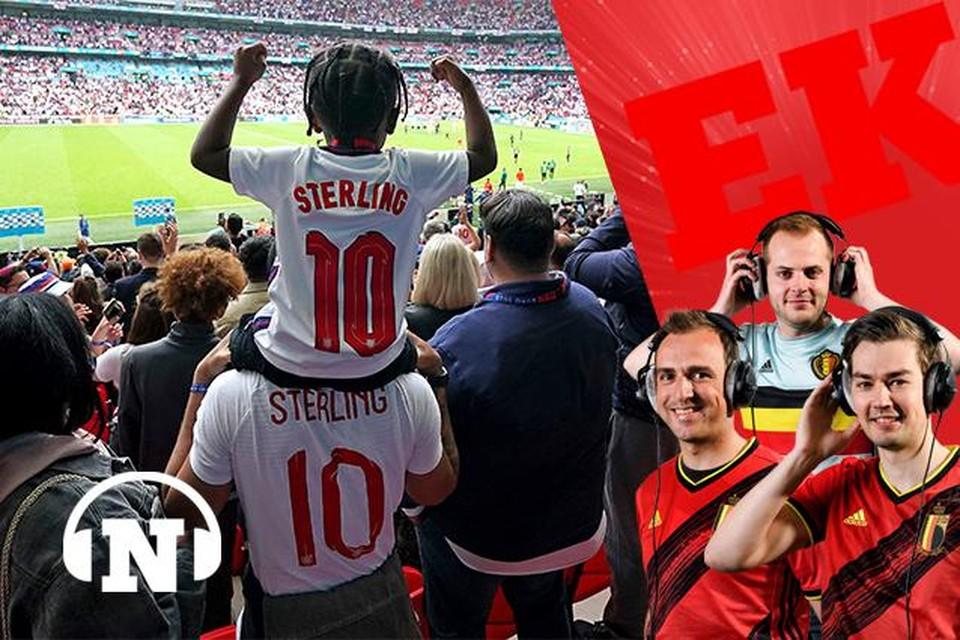 Raheem Sterling: helaas nog niet even geliefd als belangrijk bij de Engelse nationale ploeg.