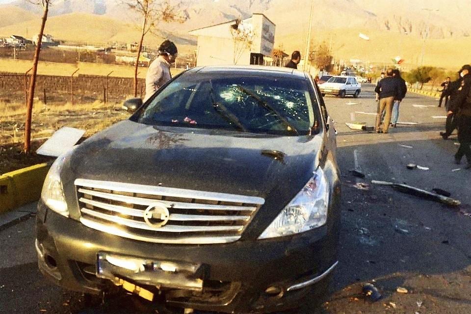 Mohsen Fakhrizadeh zat zelf achter het stuur van zijn Nissan toen hij onder vuur werd genomen door een telegeleid machinegeweer.