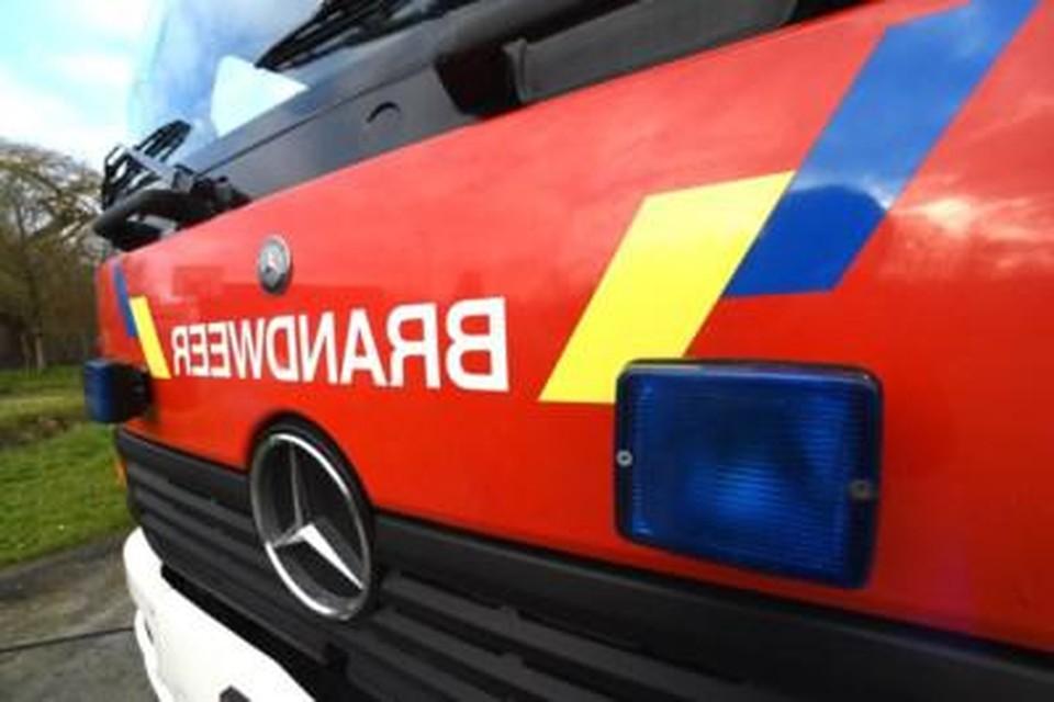De Brusselse brandweermannen hebben het gebouw geventileerd.
