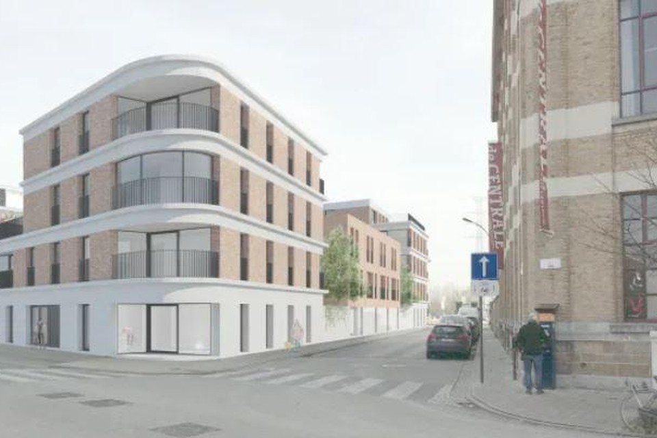 Aan de Ham, recht tegenover De Centrale, worden nieuwe sociale woningen gebouwd. Per woning wordt 8.000 tot 11.000 euro uit de Gentse stadskas gesubsidieerd.
