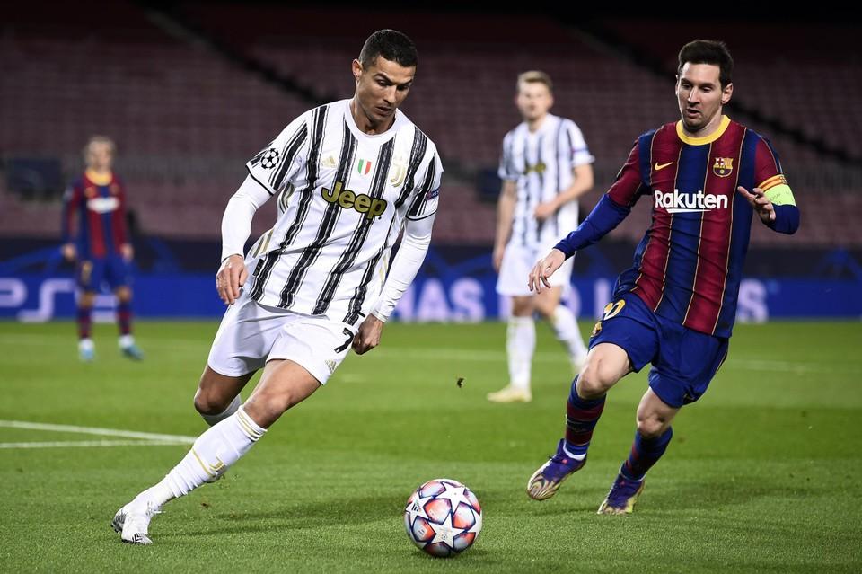 Zowel Ronaldo als Messi verhuisden afgelopen zomer van club.