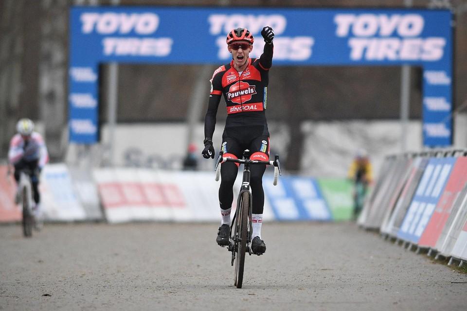 Michael Vanthourenhout won in Tabor, en dat was ook voor zijn levensgezellin  een bijzonder aangename verrassing.