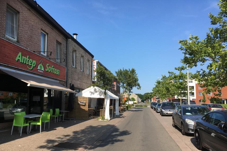 Het ongeval gebeurde in de Stationsstraat in Beringen-Mijn.