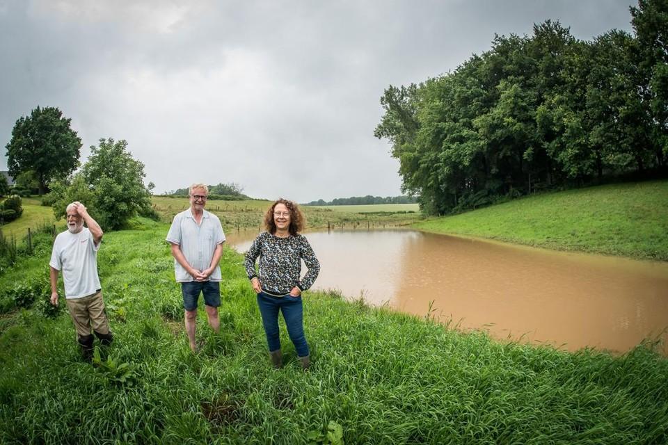Gecontroleerde overstromingsgebieden en bufferbekkens doen hun werk.