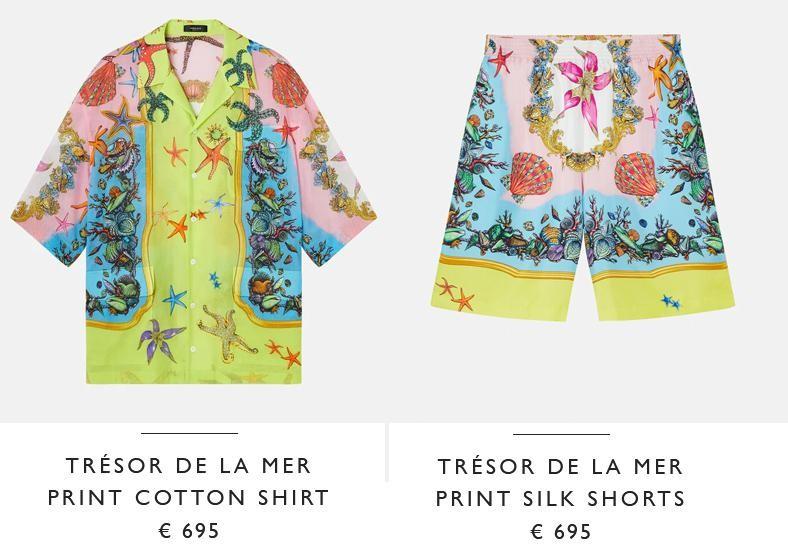 Voor de fans: de look is nog te koop en ook beschikbaar in twee andere kleuren.