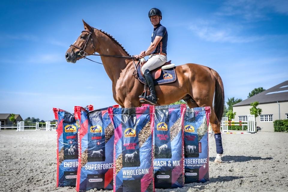 Springruiter Jérôme Guery neemt deel aan de Olympische Spelen en rekent daarbij op de producten van Cavalor