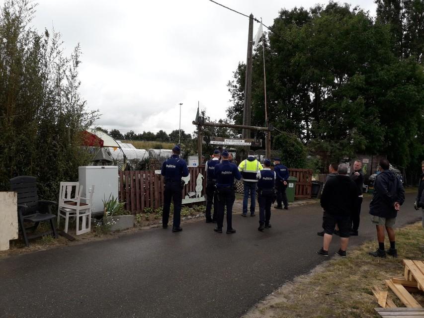 Op 8 juni 2020 werden de Brechtse Volkstuintjes door de politie ontruimd op bevel van NMBS.