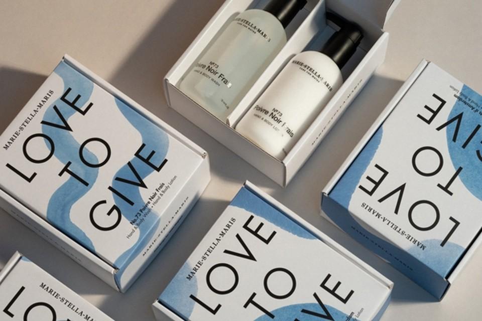 <P>Love to Gift-set van Marie-Stella-Maris, met hand body wash en een hand body lotion - 45 euro. www.senteursdailleurs.com</P>