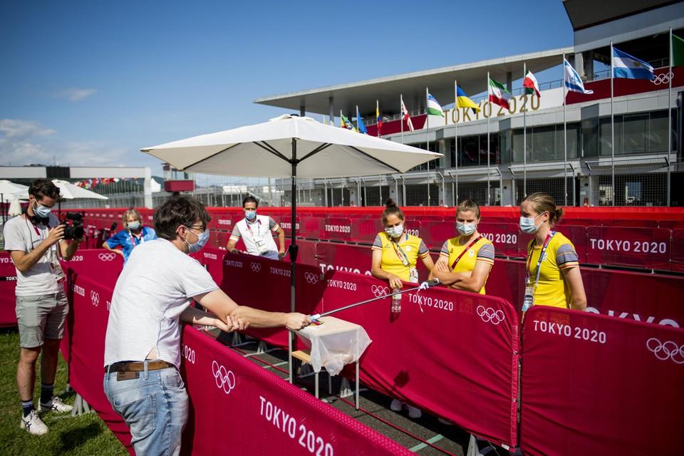 Onze man in Tokio bij de Belgische wielervrouwen