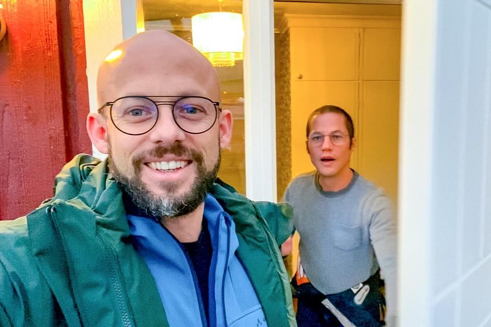 Staf (links) en Mathias Coppens
