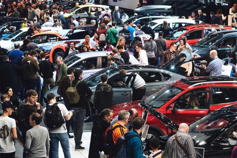 De meeste constructeurs zijn tevreden over de verkoop tijdens het Autosalon.