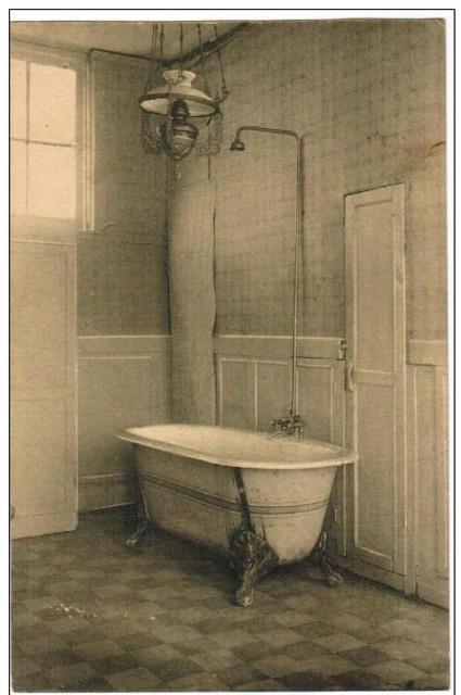 Het bad.