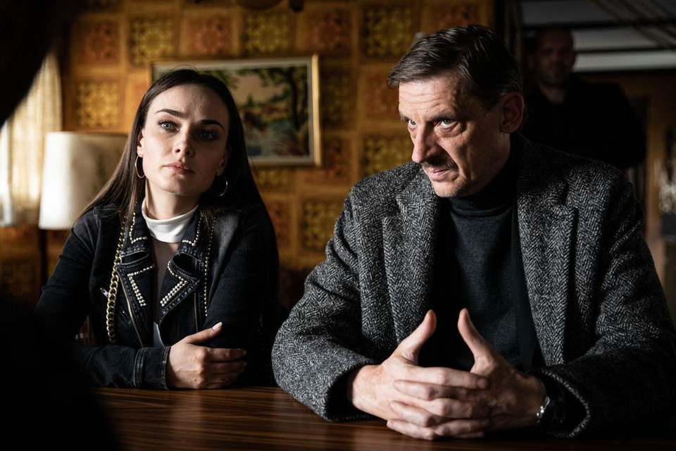 Peter Van den Begin krijgt een grotere rol en de Oekraïense actrices keren ook terug. Op de foto: Kseniya Mishina.