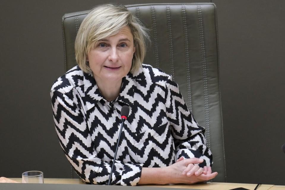 Vlaams minister van Werk Hilde Crevits (CD&V)