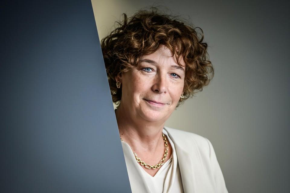 """Groen-vicepremier Petra De Sutter: """"Elke euro die we vandaag investeren in klimaatbeleid verdienen we later dubbel en dik terug."""""""