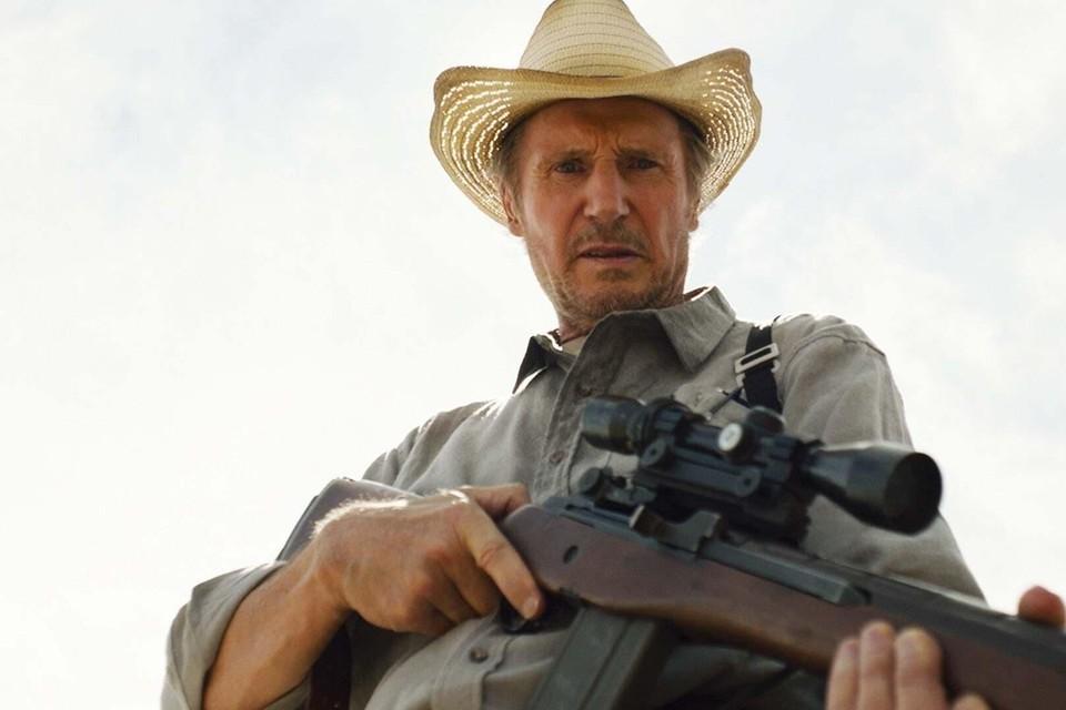 Liam Neeson schiet er naast.