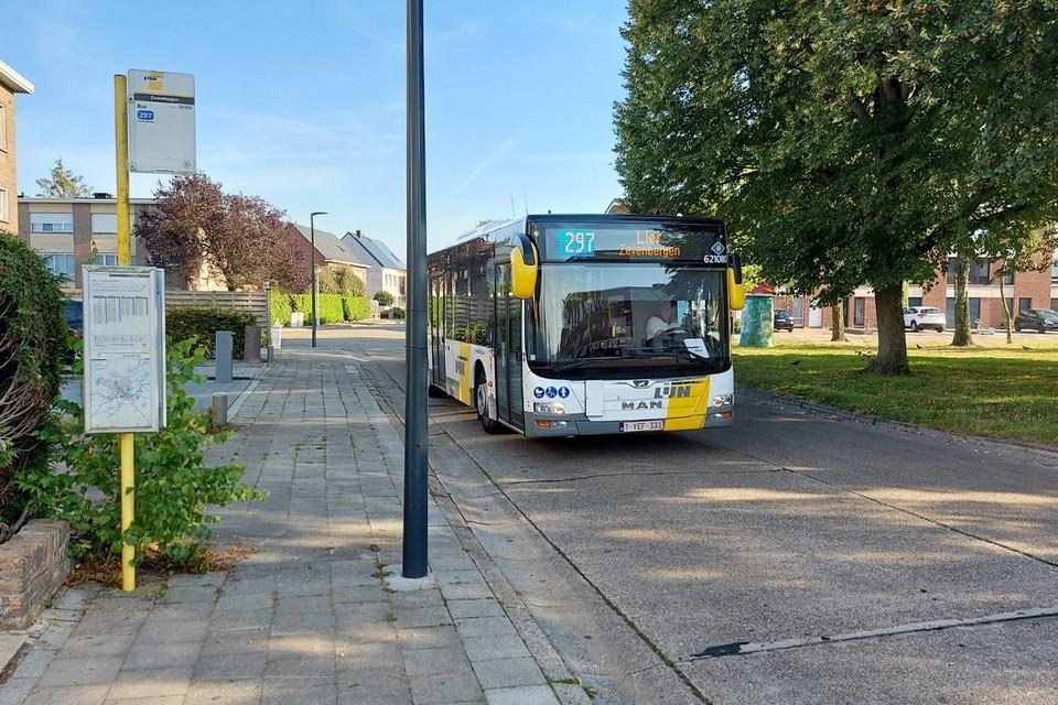 Ongeveer 60 procent van de bussen zal rijden.