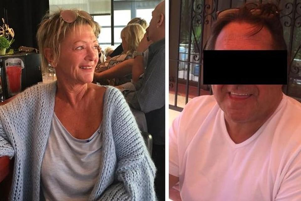 Riet Suy (links) kwam in Calpe om het leven, haar partner Danny Lauwers staat terecht