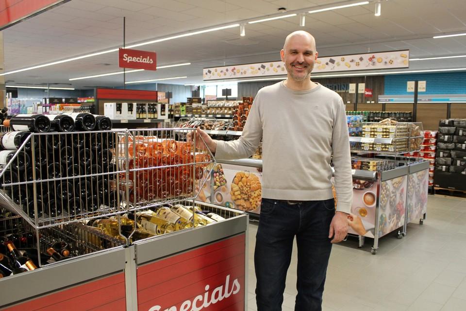 Winkelmanager Tim Verlinden.