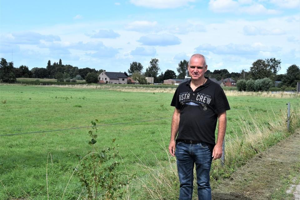 """Schepen Johan Deleu: """"De realisatie van de Vetweyde  is nog niet voor morgen""""."""