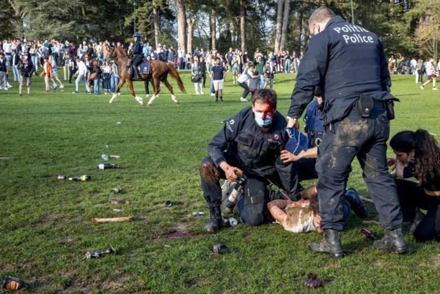 De foto van de bewogen arrestatie van Lucien P. haalde alle kranten